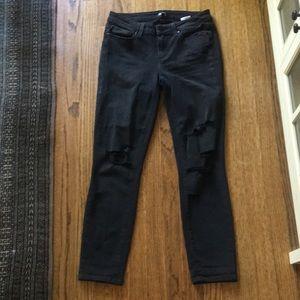 Paige black denim jeans